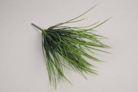 a385nn Piquet d'herbe artificielle verte H30cm