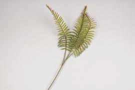 a387nn Artificial green fern H52cm