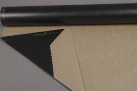 A393QX Rouleau de papier kraft noir 0,80x50m