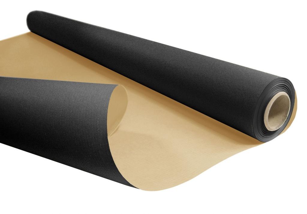 A394QX Roll of kraft paper black 0,80x120m