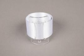 A402MG Paquet de 2 bracelets mariage blanc