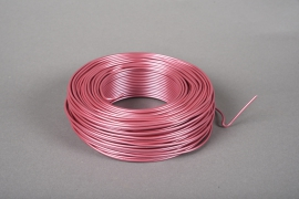 A404MG Roll of pink aluminium wire 2mm 60m