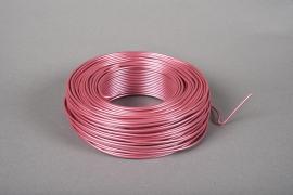 A404MG Rouleau de fil en aluminium rose 2mm 60m