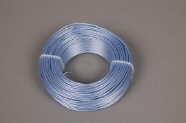 A405MG Rouleau de fil en aluminium bleu 2mm 60m