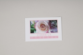 """A411MQ Pack of 15 postcards """"Comme ça"""""""