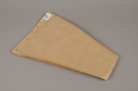 A420MO Pack of 50 cellophane bags kraft 25x40cm