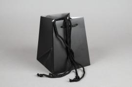 A423MO Paquet de 10 sacs bouquet noir H18cm