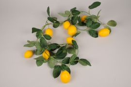 a426nn Artificial lemon garland H180cm