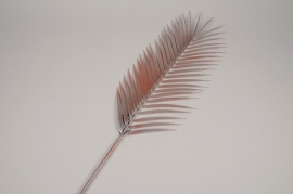 a440nn Pink artificial palm leaf H110cm