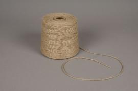 A440UN Natural thread burlap roll 1kg