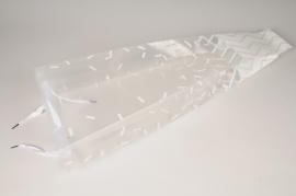 A447QX Paquet de 10 sacs pour orchidée 26x11cm H72cm