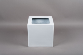 A448HX Resin planter white 34x34cm H32.5cm