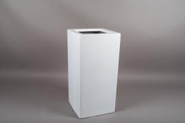 A451HX Resin planter white 30x30cm H60cm