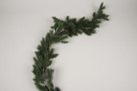 a456nn Guirlande de sapin artificiel vert L91cm