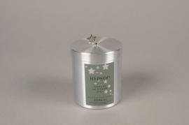 A457NG Bougie parfumée boîte métal étoilé BOREAL