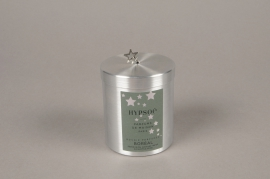 A457NG Scented candle in star metal boxes BOREAL