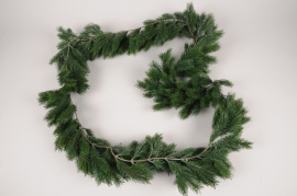 a457nn Artificial green fir tree garland L180cm