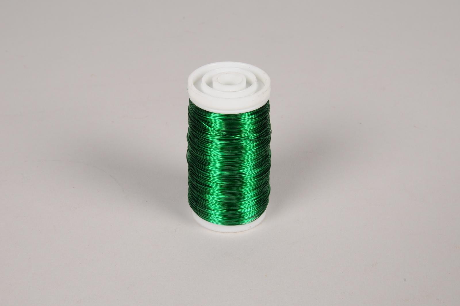 A459MG Rouleau de fil de fer vert 160m