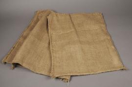A459UN Pack of 6 natural jute bags L40cm  H50cm