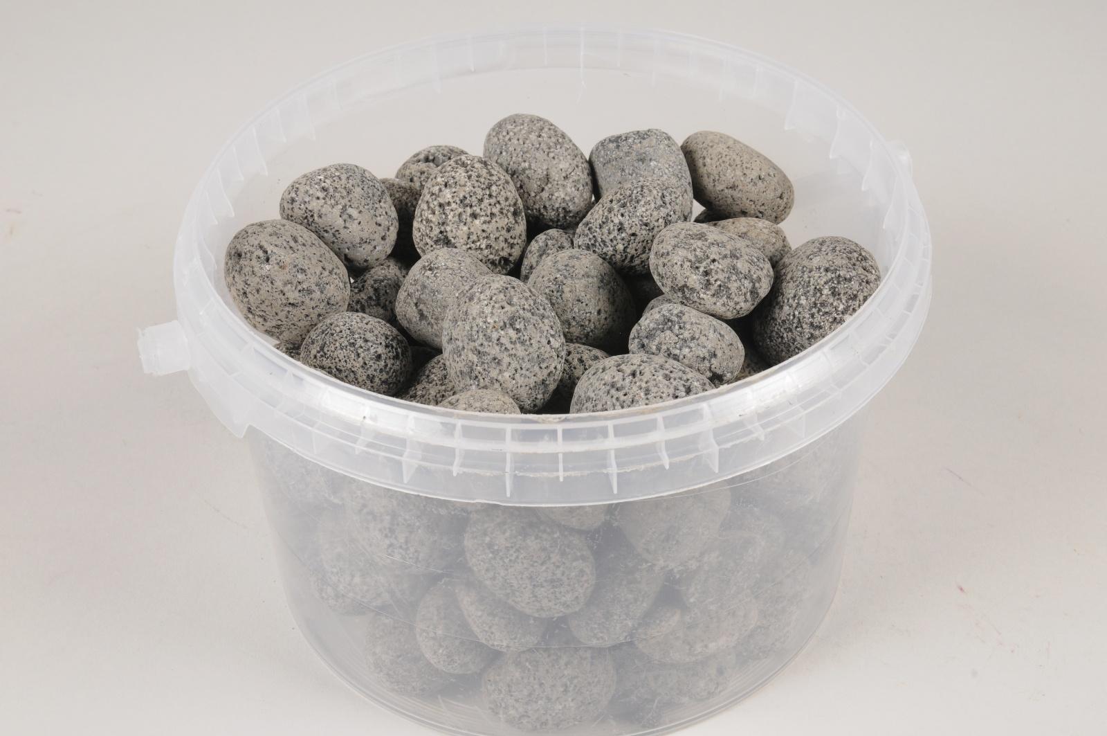 A467SK Seau 2.5L de pierres de lave