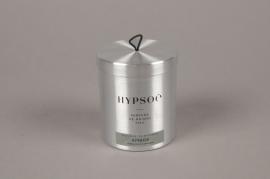 A474NG Bougie parfumée recharge boîte métal Wooden AMBRE
