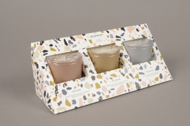 A499NG Gift set of 3 scented candles