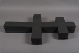 A504QV Cross of Lorraine floral foam H80cm