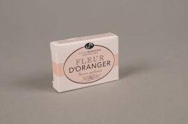 A508NG Boite de 10 savons parfumés fleur d'oranger