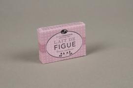 A509NG Boite de 10 savons parfumés lait de figue