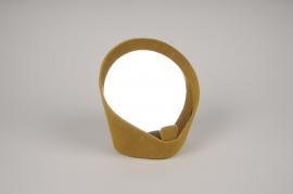 A512NG Mustard empty pocket mirror H17.5