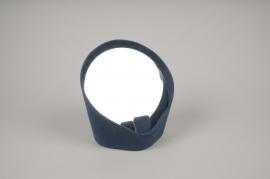 A513NG Miroir vide poche bleu H17.5