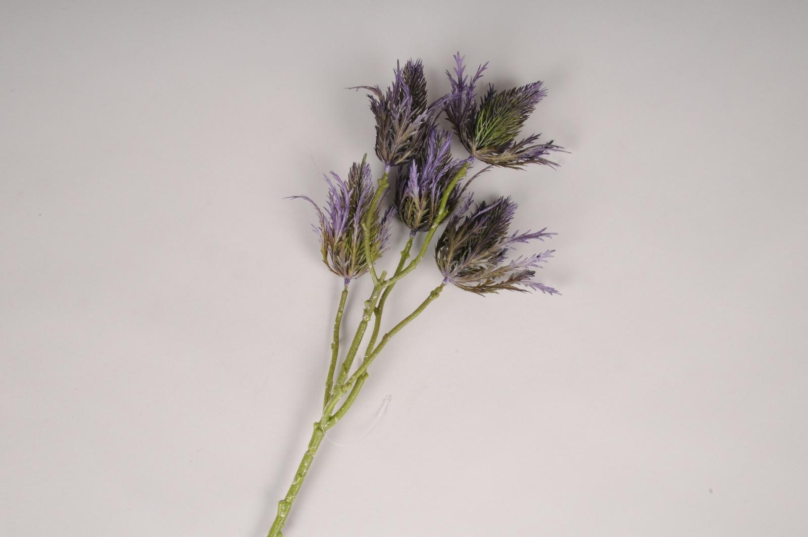 a513nn Houx de mer artificiel violet H55cm