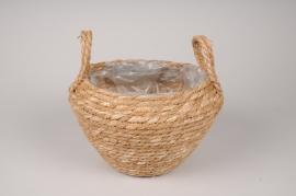 A534HX Weaved baskets planter D27cm H25cm