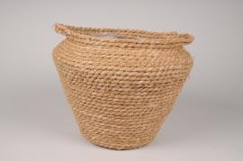 A535HX Weaved baskets planter D32cm H27cm