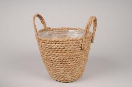 A541HX Weaved baskets planter D21cm H18cm