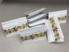A543MQ Paquet de 10 cartes Plaisir d'offrir