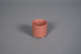A550HX Cache-pot en céramique terre de sienne D6cm H6cm