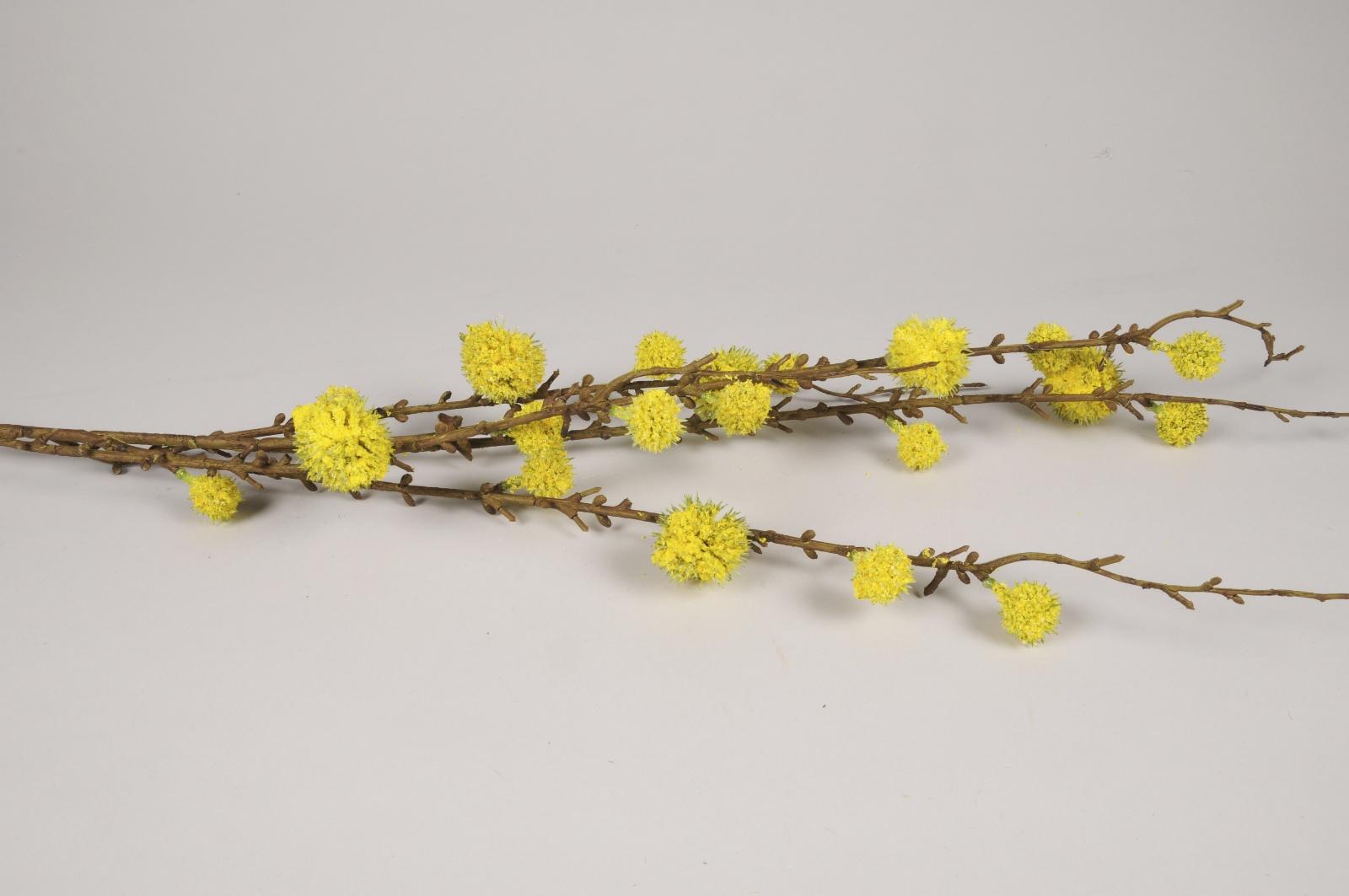 a558nn Hamamélis artificiel jaune H120cm