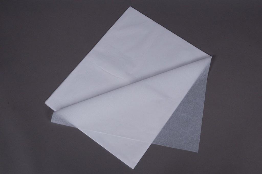 A566QX Paquet de 240 feuilles papier de soie blanc 75x 50x75cm