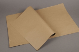 A585QX Ream of 250 sheets natural kraft paper 60x80m