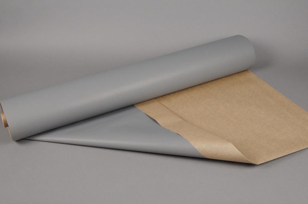A596QX Rouleau papier kraft gris foncé 0,80x120m