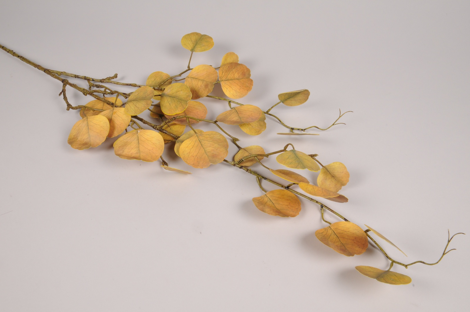 a598nn Eucalyptus artificiel jaune H107cm