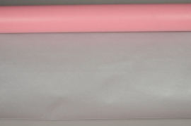 A635R7 Double sided kraft paper roll pink / silver 80cmx40m 60g