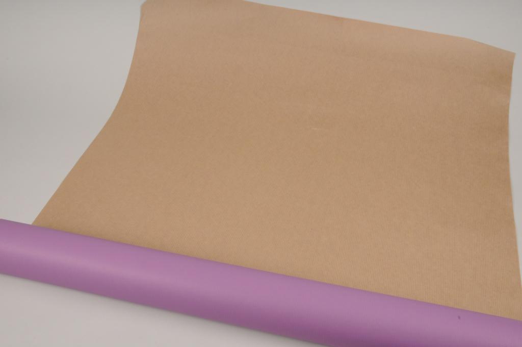 A650QX Rouleau de papier kraft violet 80cm x 50m
