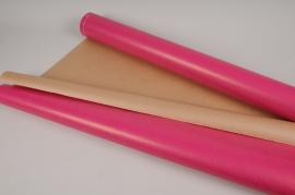 A651QX Rouleau de papier kraft fuchsia 0,80cm x 50m