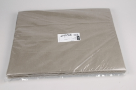 A655QX Ream of 520 tissue paper sheets taupe 50x75cm