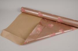 A657QX Kraft paper roll copper 80cm x 40m