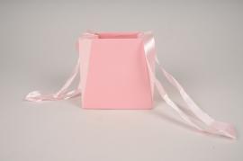 A661QX Paquet de 10 sacs en carton rose