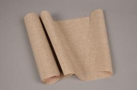 A678UN Brown cotton ribbon 30cm x 5m