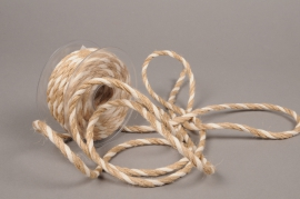 A688UN Rouleau de corde de jute naturel 10mm x 10m